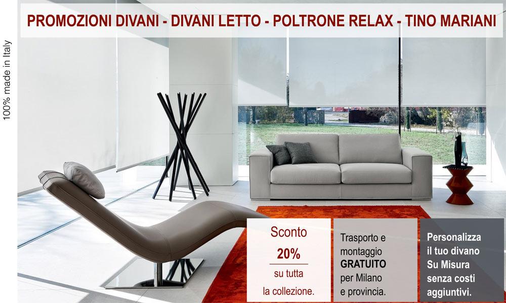 Divani in promozione, 100% made in Italy. | Tino Mariani