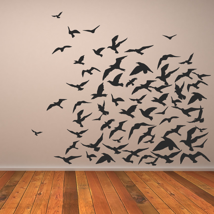 Creative wall art ideas do it yourself ideas and projects for Bird wall art