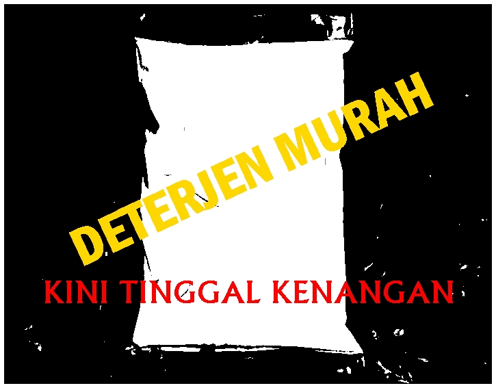 DETERJEN MURAH