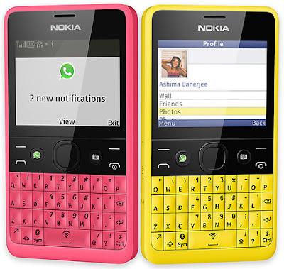 Nokia Asha 210 Dual SIM