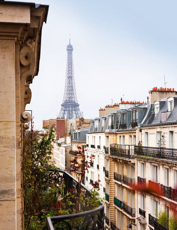 A Diary of Lovely A home with views Paris