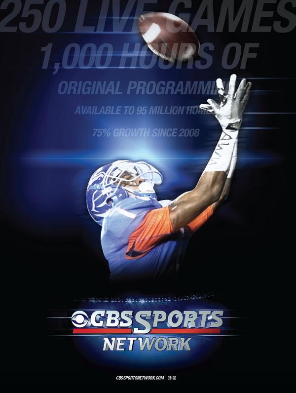 cbs sports network 2014