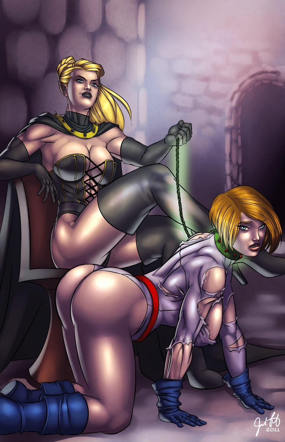 Power girl and raven fuck fucked pictures