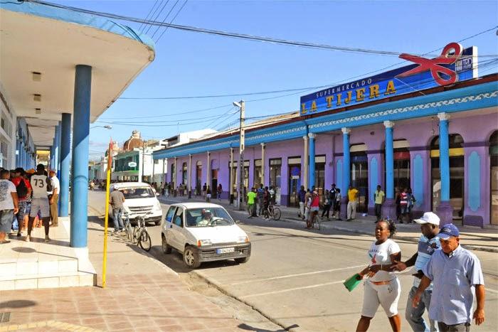 Calle Los Maceo, en Guantánamo