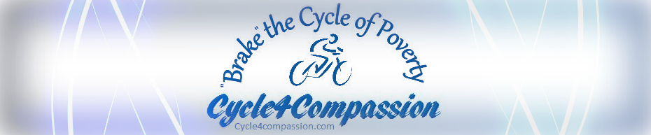 "Cycle4Compassion: ""Brake"" the cycle of poverty"
