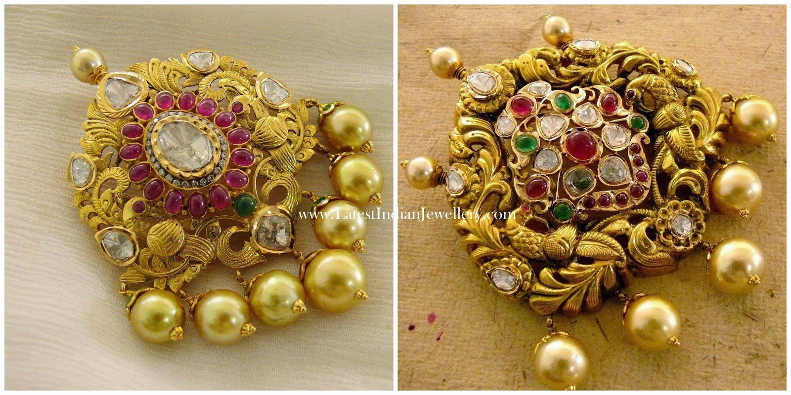 Latest Gold Padakkam Designs