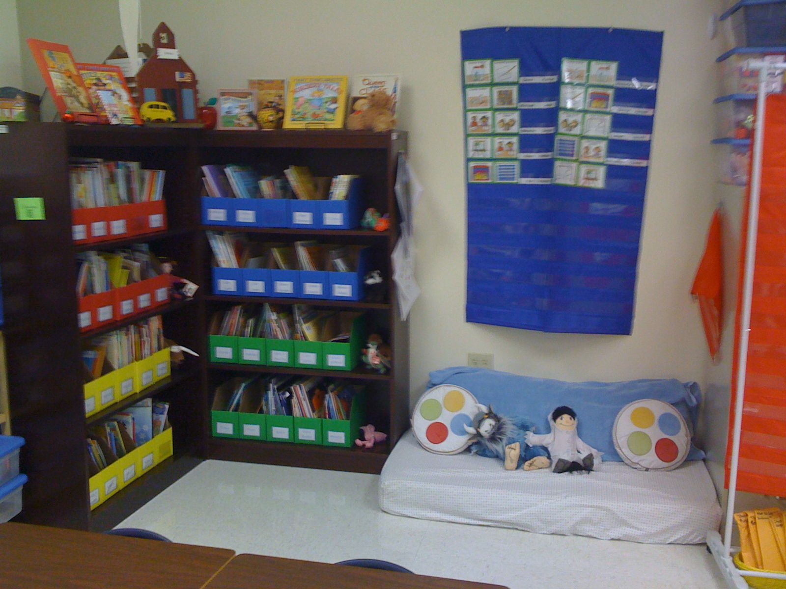 how to set up a primary school library