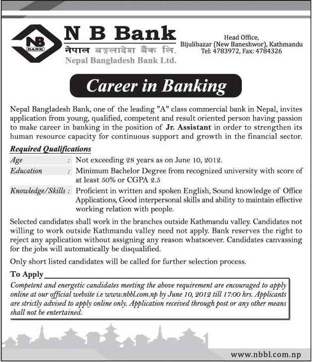 Bank Jobs In India Junior Assistant Posts In National Co