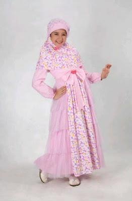 gambar baju muslim anak modern