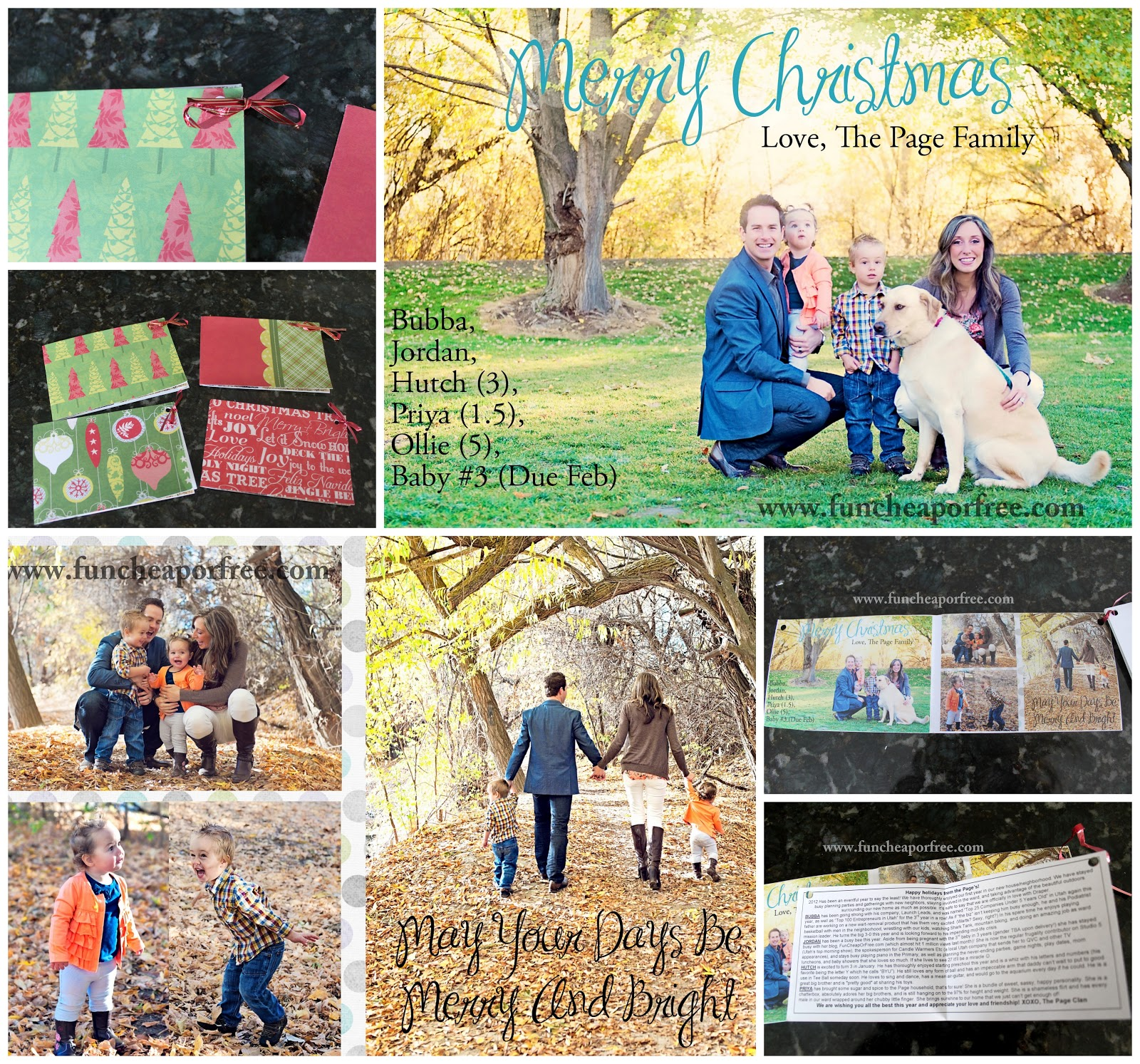 My DIY (FREE!) Christmas cards - Fun Cheap or Free