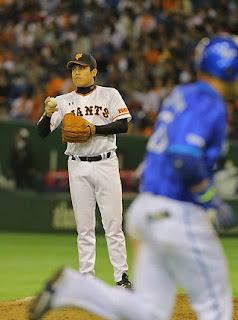 9回無死、西村が筒香にソロホームランを許し、2対10 巨人 西村健太朗 2015/3/28 巨人×横浜