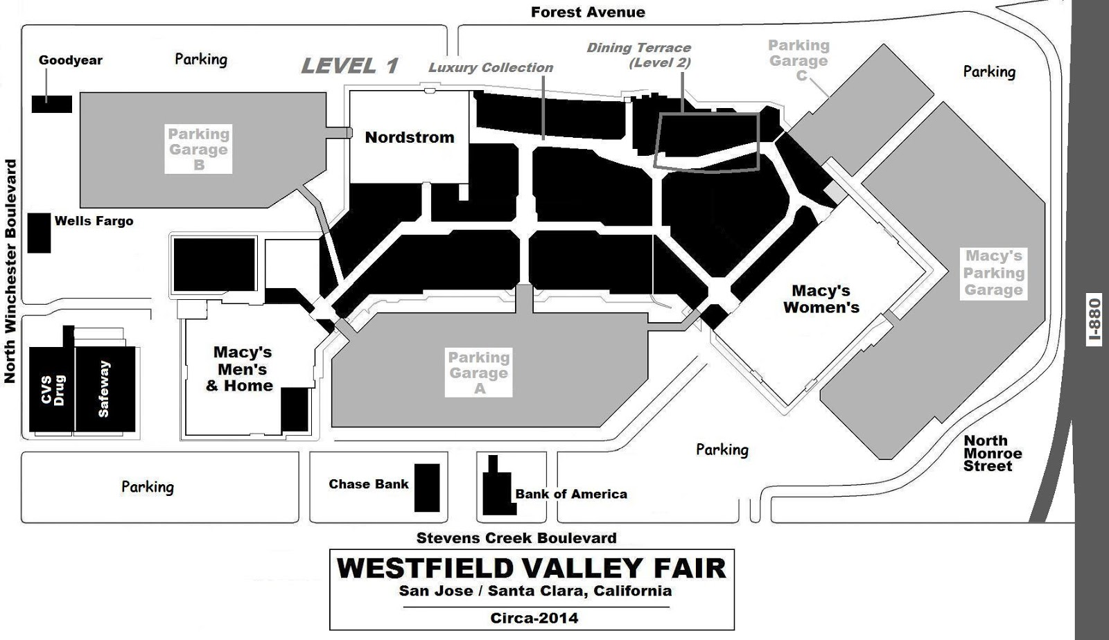 Del Amo Mall Map. League Of Legends Map Skins Loading Card Kindred ...