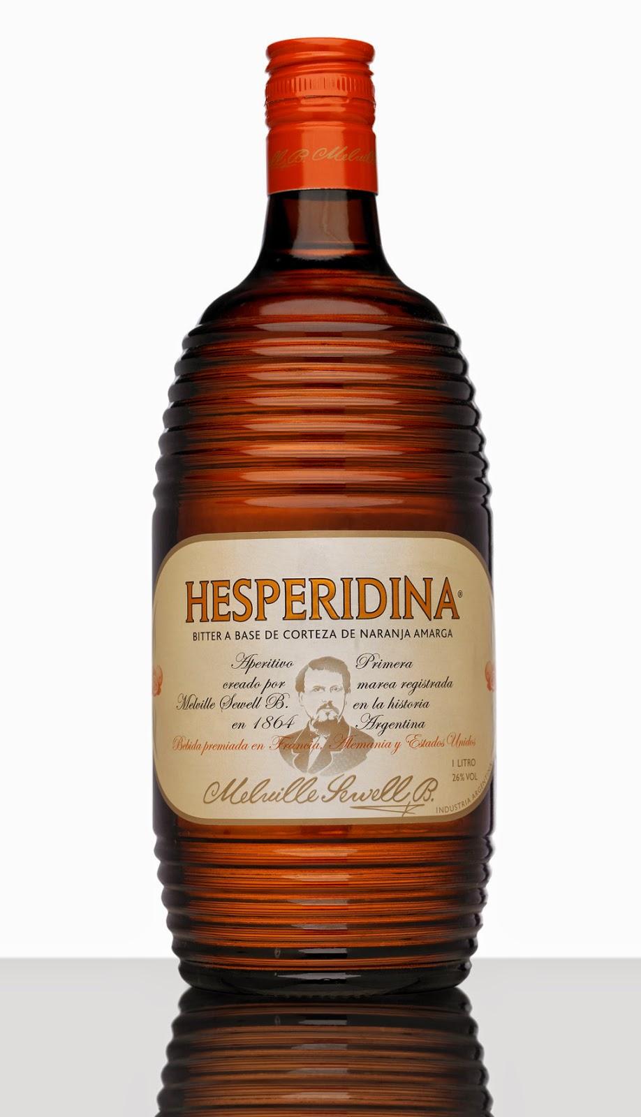 botella de hesperidina