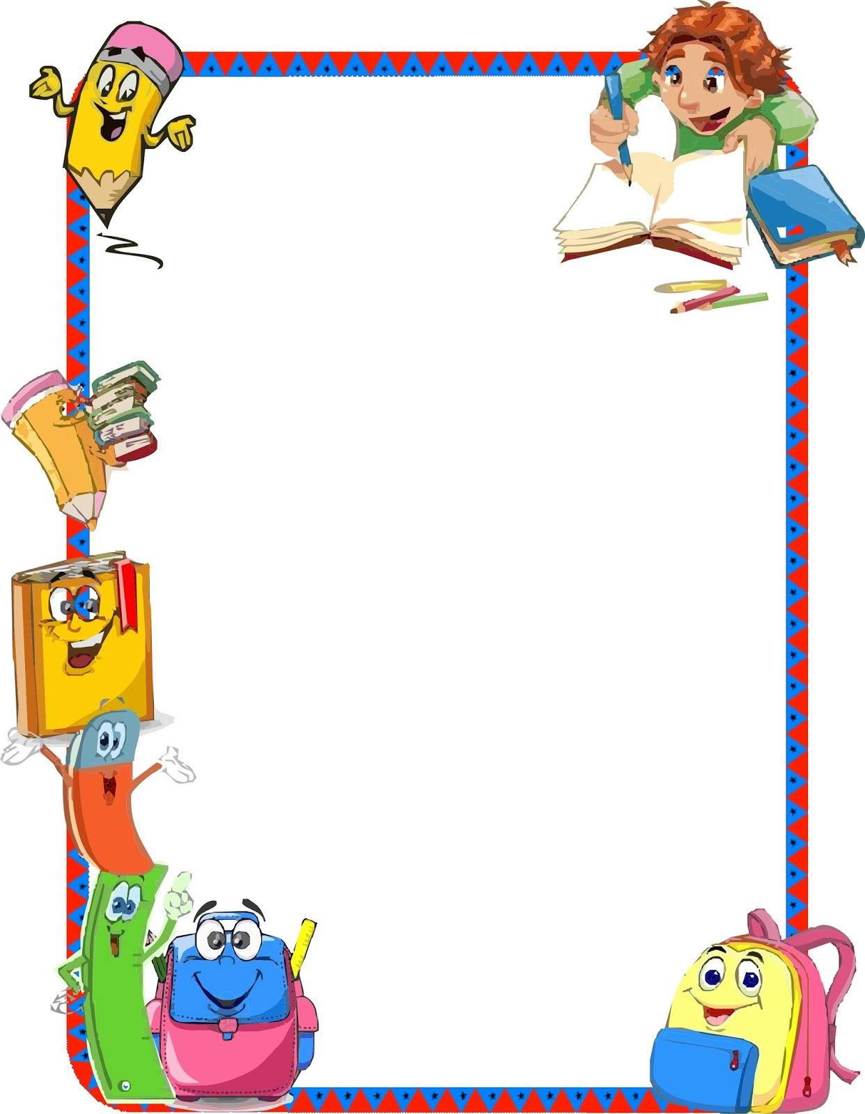 Bordes decorativos educativos para niños - Imagui