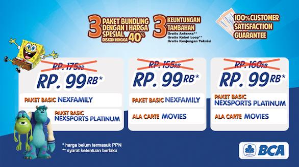 Promo Nexmedia Kartu Kredit BCA Bulan Agustus 2014