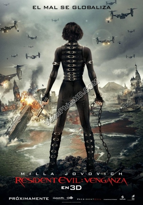 Phim Vùng Đất Dữ: Báo Thù - Vùng Đất Quỷ Dữ - Resident Evil: Retribution