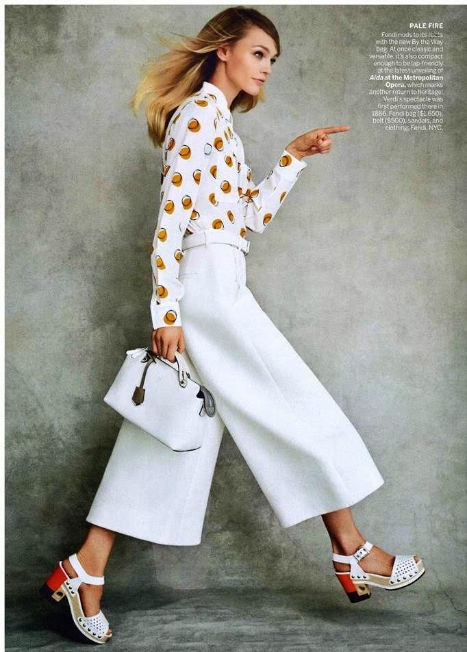 Tendências moda primavera-verão 2015 calças pantalonas curtas