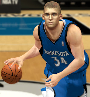 NBA 2K13 Greg Stiemsma Cyberface Patch