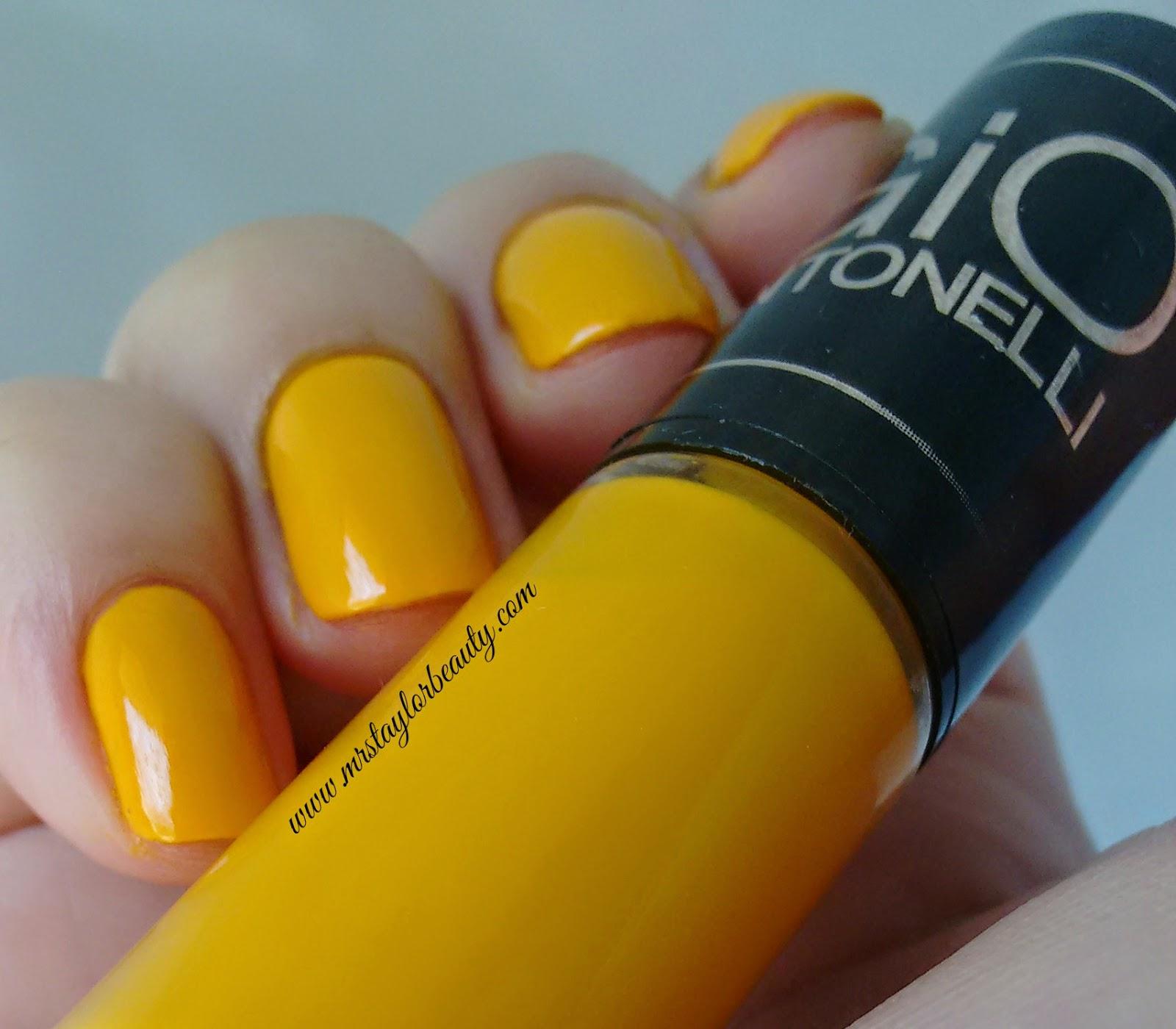 Esmalte, Gio Antonelli, Empolgação, Frescurites Femininas, Amarelo, Esmalte Amarelo, Yellow nail polish