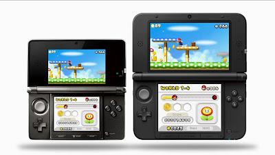 Nintendo 3DS and Nintendo 3DSXL Comparison