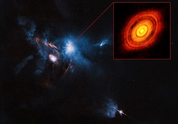 Veja como é um sistema estelar em formação (com video)