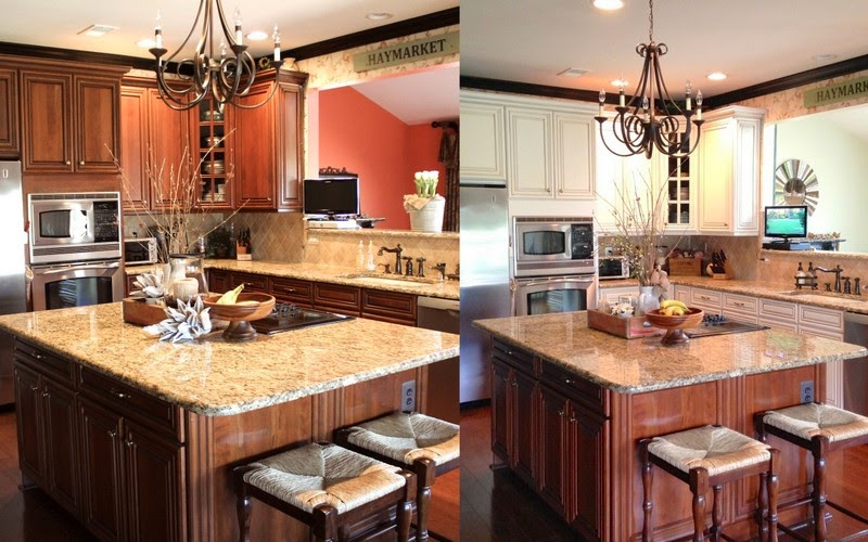 House of FabForLess Painted Kitchen Cabinet Review