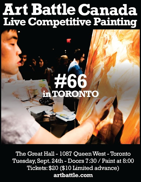 Art Battle 66, Toronto Art Battle, Great Hall Art Battle, Malinda Prudhomme, Art Battle Artist, Toronto Art Battle Artist, Beauty Art, Portrait Artist