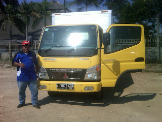 Pengiriman Colt Diesel B 9057 OJB Jakarta ke Banjarmasin