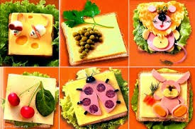 Pelbagaikan kreativiti menghias makanan anak