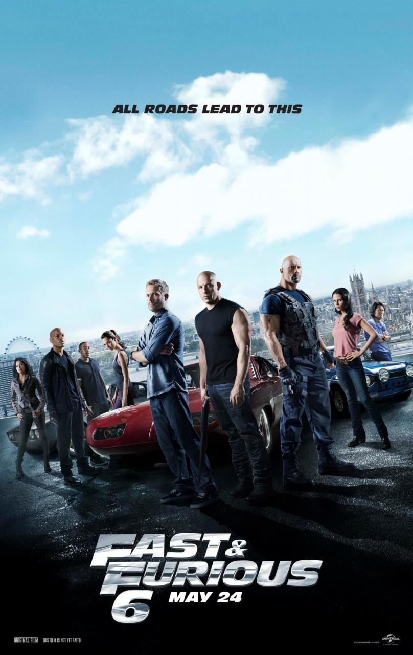 fast and furious 6 poster greek subtitles