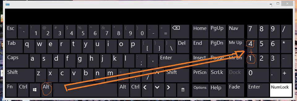 The Real Me How To Type Symbols Using Keyboard Shortcuts