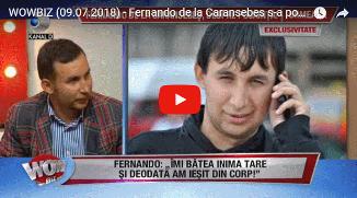 """Fernando de la Caransebeș s-a pocăit după ce a suferit un infarct 🔴 """"De acum încolo, cânt doar..."""