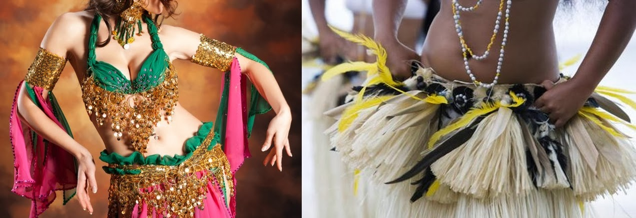 Image result for Danza árabe y tahitiana