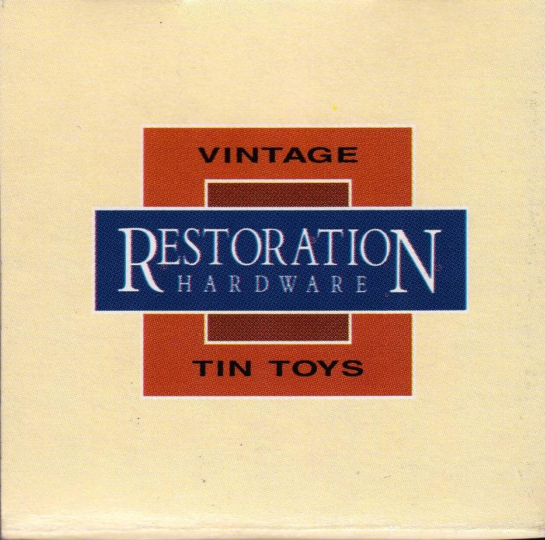 Restoration Hardware Uk Shipping: Toys And Stuff: Restoration Hardware Space Master X-7 Tin
