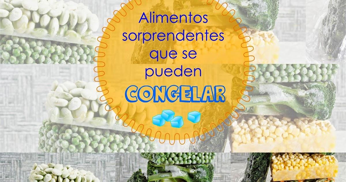 Nutricion estetica alimentos sorprendentes que se pueden congelar nutricionista lima - Se pueden congelar las almejas crudas ...