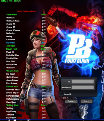 Cheat Point Blank Indonesia 22 Maret 2015 HOT !