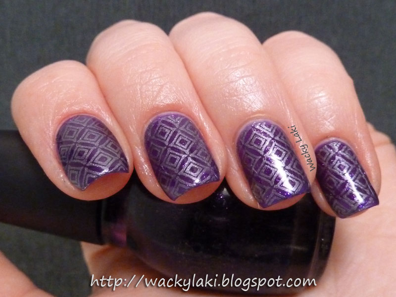Wacky Laki: Sunday Stamping with Glitter for Father\'s Day