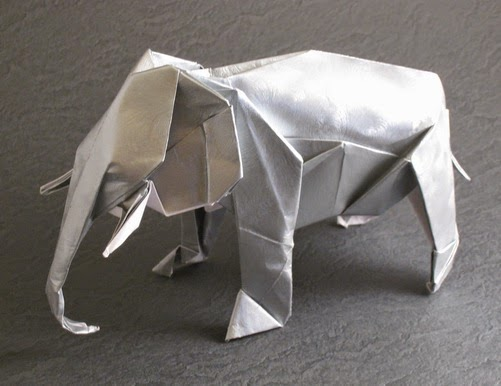 Easy Origami Paper Crafts Paper Origami Elephant
