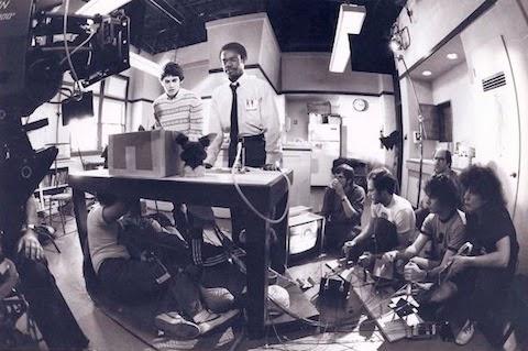 """""""Los gremlins"""" (1984)- fotos rodajes 80"""