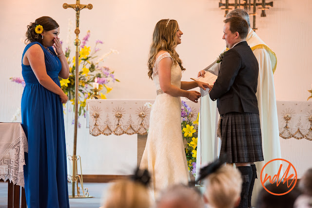 St Andrews Roman Catholic Church Bearsden Wedding Photography