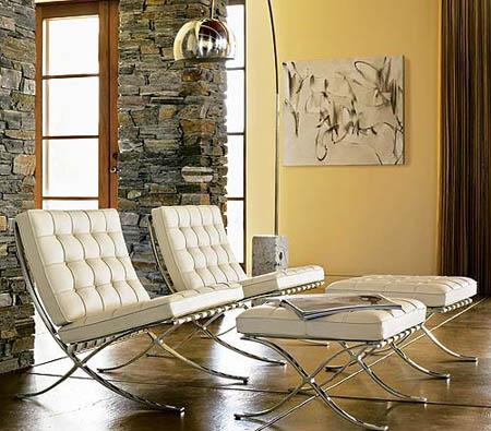 5 sedie senza tempo arredamento facile for Poltrona mies
