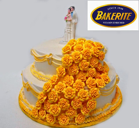 Wedding cake from Bakerite Manila