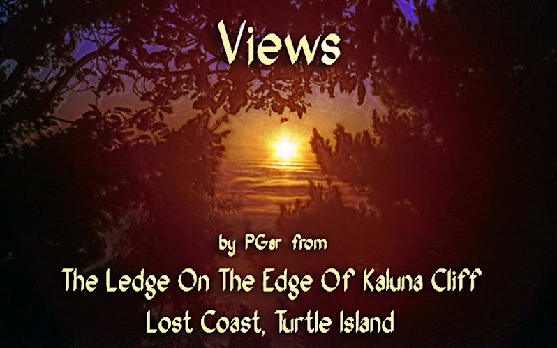 Views From The Ledge On The Edge Of Kaluna Cliff