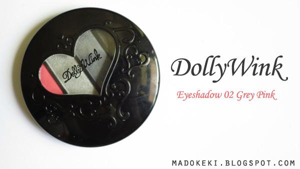 Dollywink Eye Shadow 02 Grey Pink