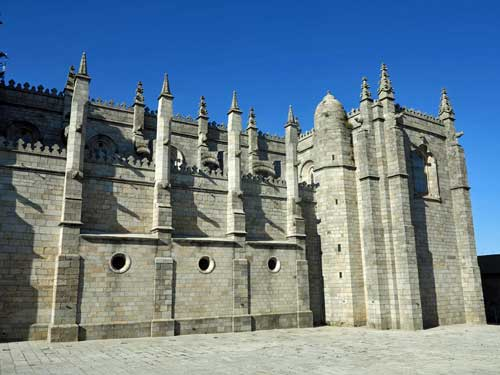 Guarda Cathedral, Portugal.