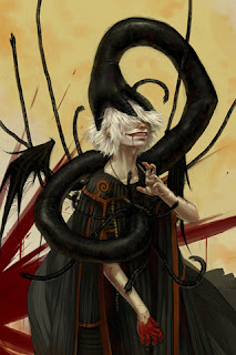 Chaos Woman Artwork iPhone Wallpapers