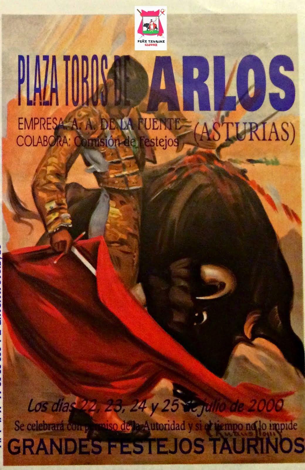 arlos llanera toros asturias