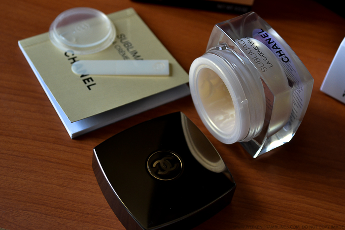 Chanel Sublimage La Creme Yeux Ultimate Regeneration Eye Cream Review Antiaging Skincare