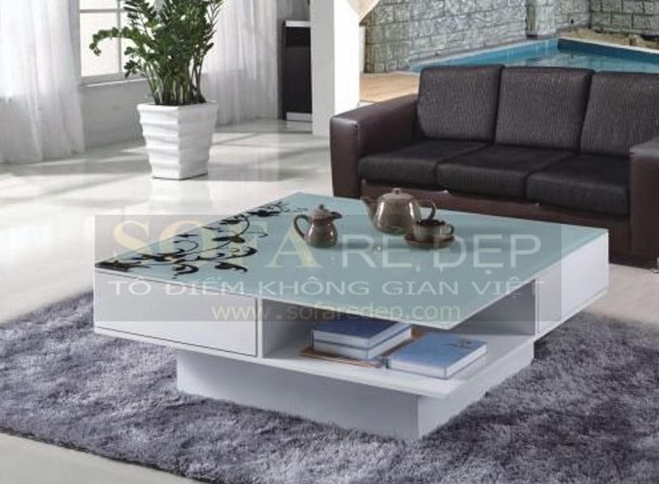 Bàn sofa gỗ BS065