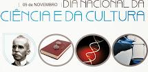 05/11 - DIA DA CIÊNCIA E CULTURA